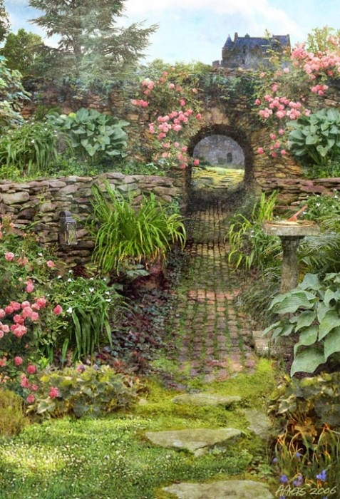 Labyrinth Gardens Images Pinterest
