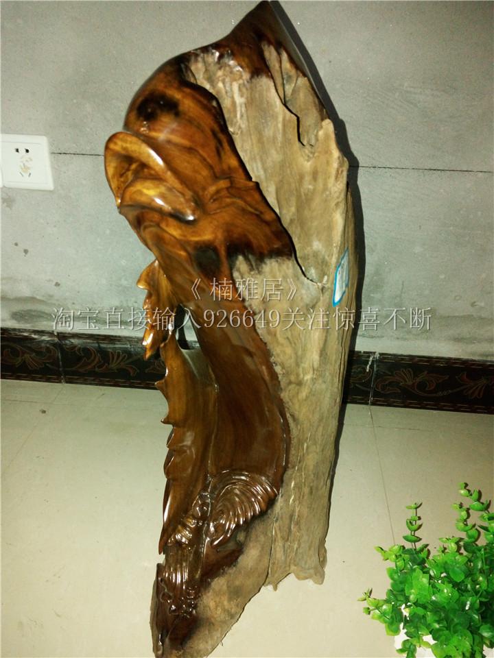 阴沉金丝楠木摆件 - 图片素材