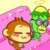 嘻哈猴头像图片